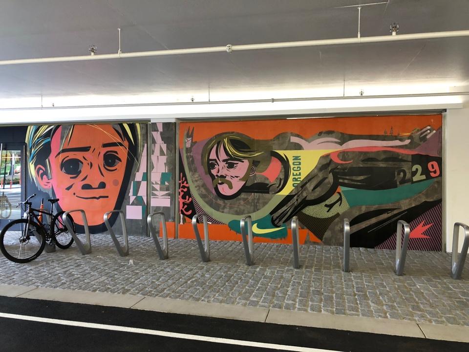 Nike Mural