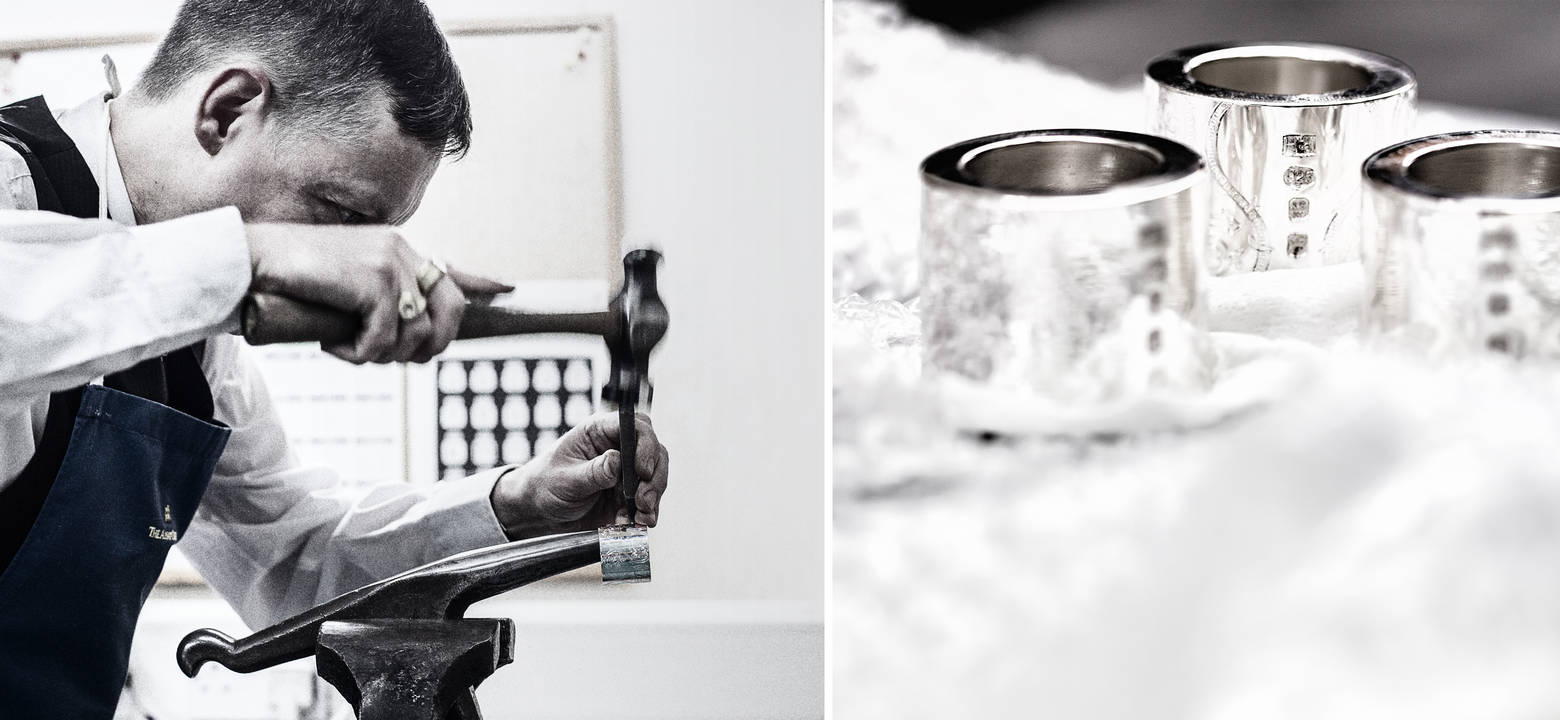 Tamdhu 50 Hamilton Inches silver work hallmark