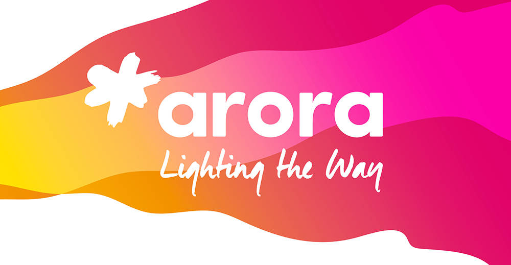 Arora branding by Good