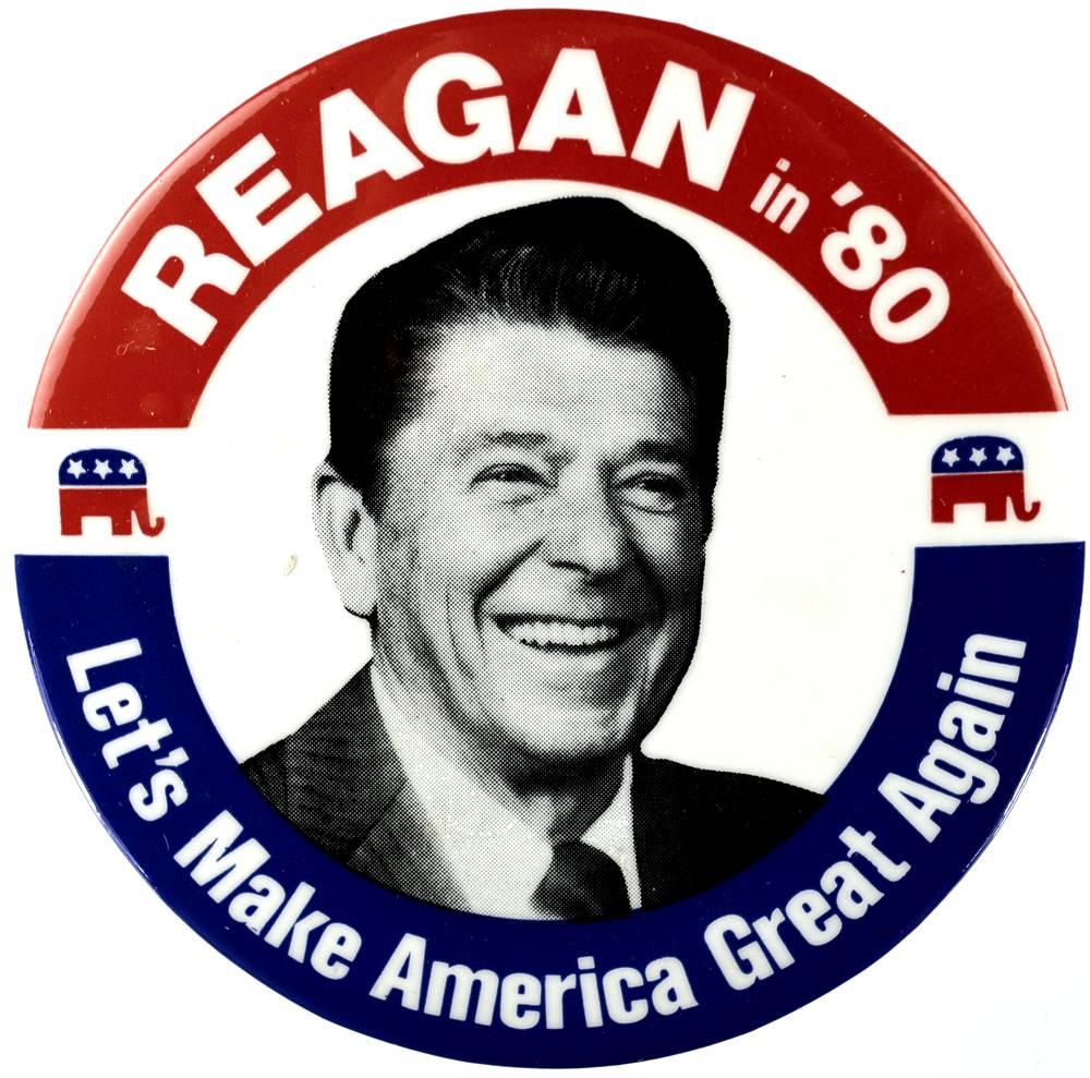 reagan let's make america great again