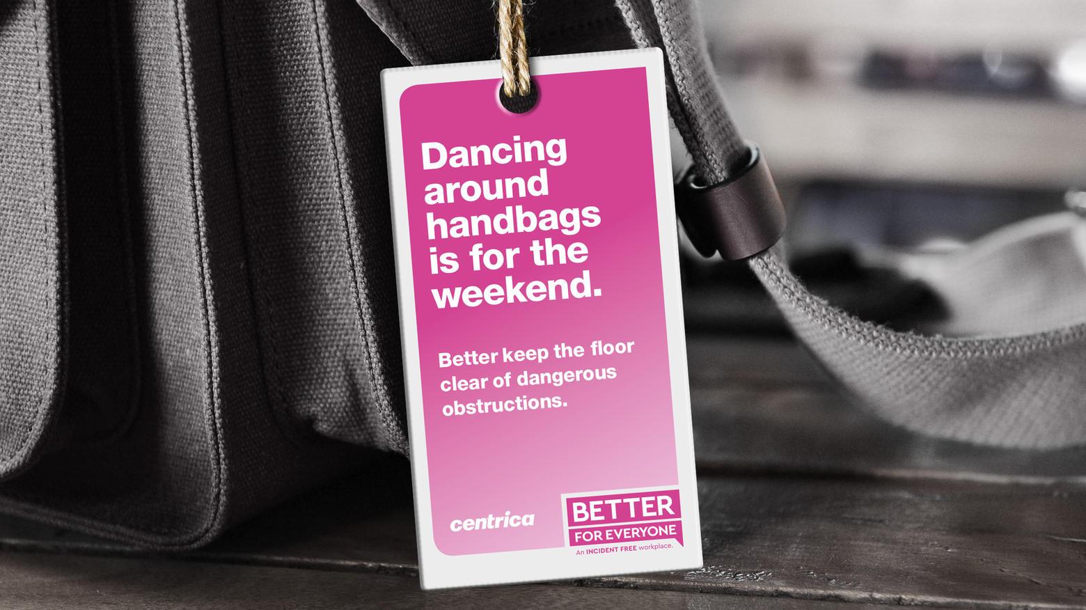Centrica Bag Tag