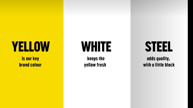 Colour palette guidelines