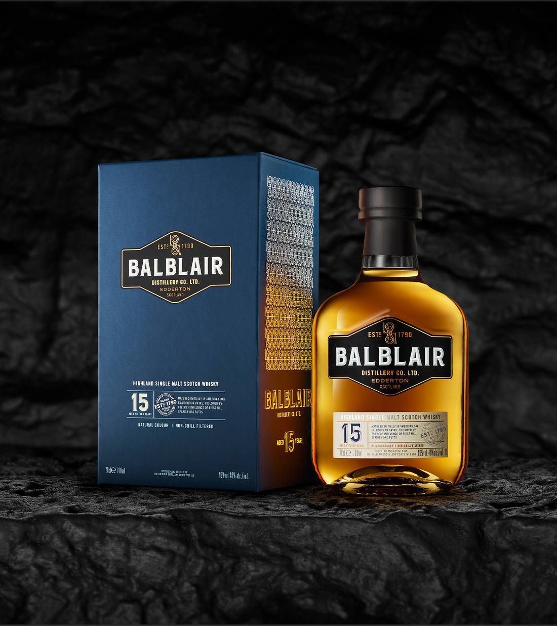 Balblair 15 year old bottle and box