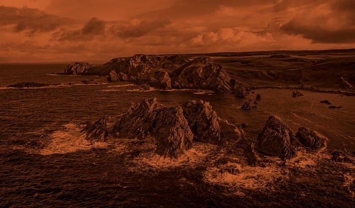 Islay cliffs