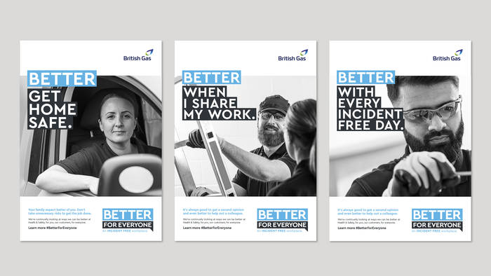 Centrica Poster Treatments