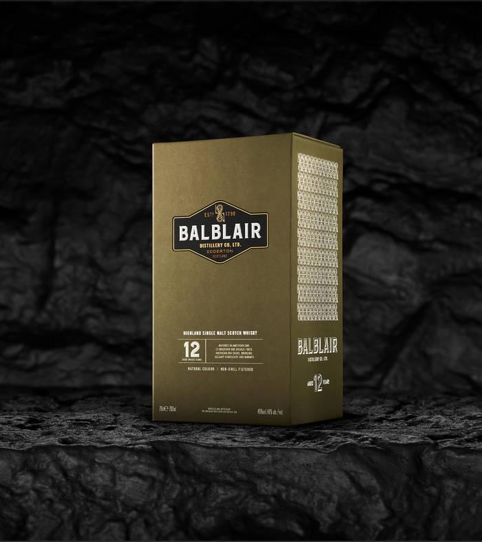 Balblair 12 year old box