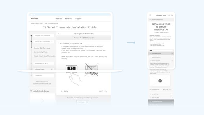 Resideo Wireframe 2