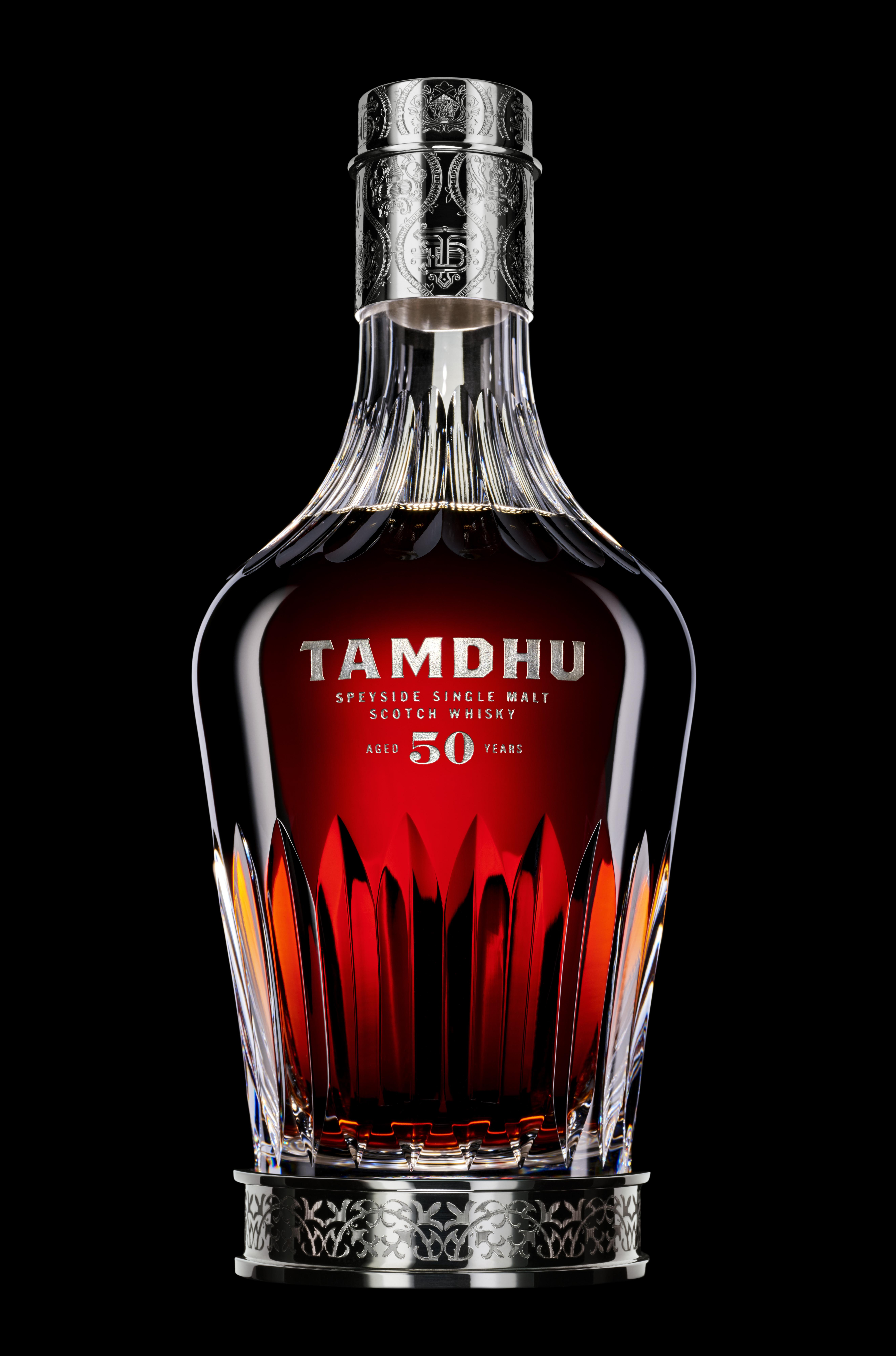 Tamdhu Whisky Luxury 50 Packaging